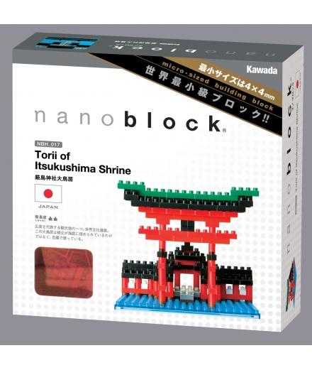 nanoblock® - Le sanctuaire d'Itsukushima