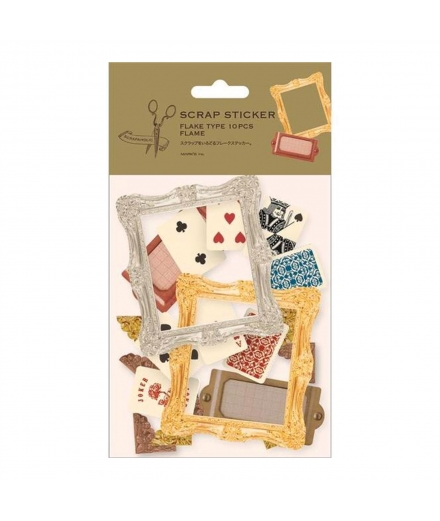 Stickers Scrapbooking - SCRAPAHOLIC