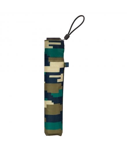 Parapluie léger Manuel 90gr AIR-LIGHT Pixel Camouflage - KIU