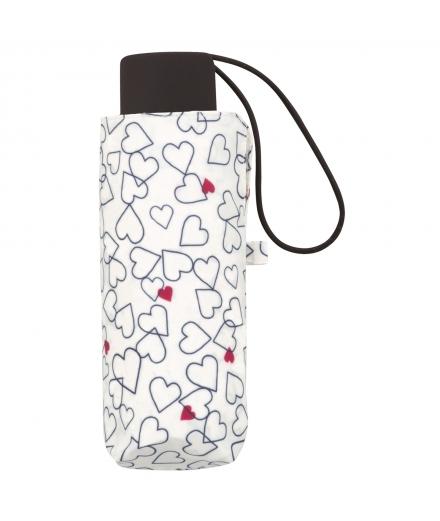 Mini Parapluie en silicone Line Heart - Kiu