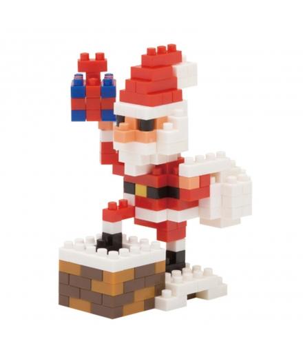 nanoblock® - Le Père Noël sur la Cheminée