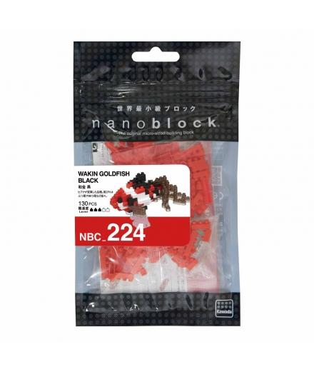 nanoblock® - Poisson Rouge Japon Blanc et Noir