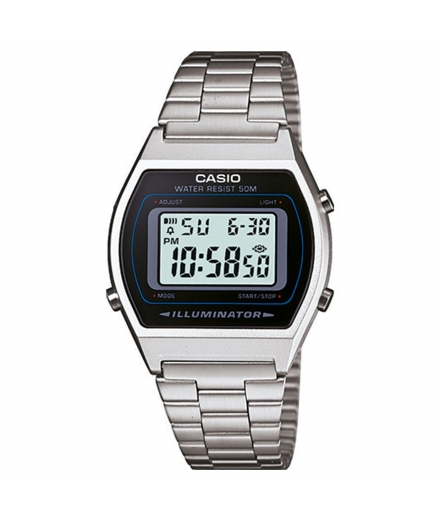 Montre Mixte Digitale B640WD-1AVEF Argent - CASIO