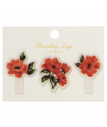 Autocollants Pour Pense-Bêtes Flower Zakka Collection - MARK'S