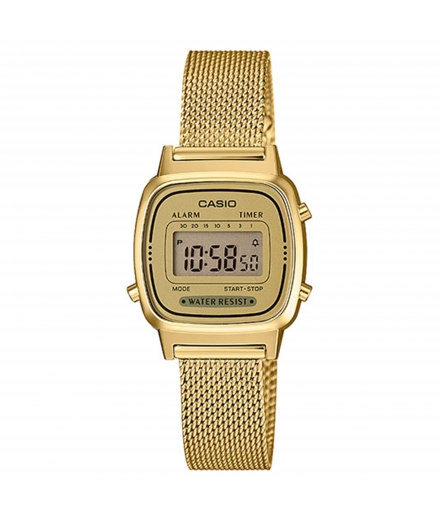 Montre Femme Digitale LA670WEMY-9EF Or - CASIO