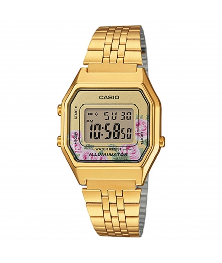 Montre Femme Digitale LA680WEGA-4CEF Or - CASIO