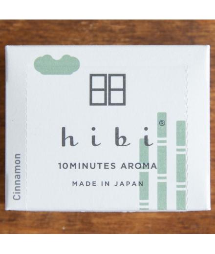 Bâtons d'encens Cannelle Grande Boîte x30 - Hibi