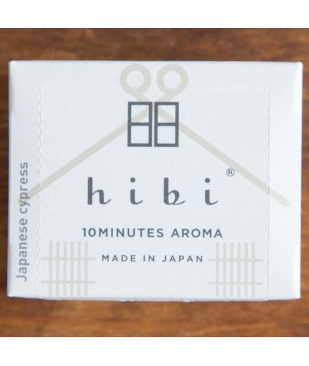 Bâtons d'encens Cyprès Japonais Grande Boîte x30 - Hibi