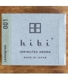 Bâtons d'encens Citronnelle Grande Boîte x30 - Hibi
