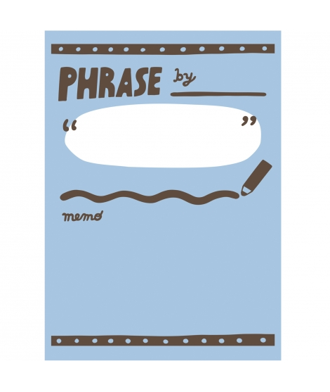 Masking Tape Phrase - MARK'S