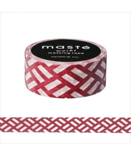 Masking Tape Ninoji Bordeaux - masté