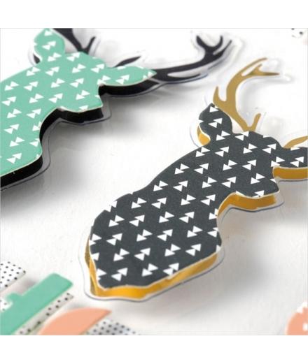 Stickers Tridimensionnels Diamants - MARK'S