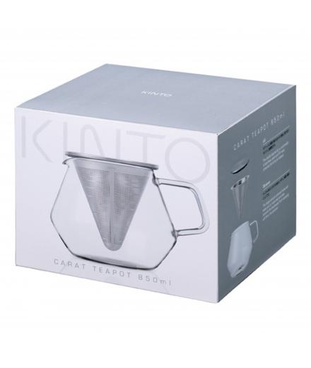 Théière en verre Carat 850ml - KINTO