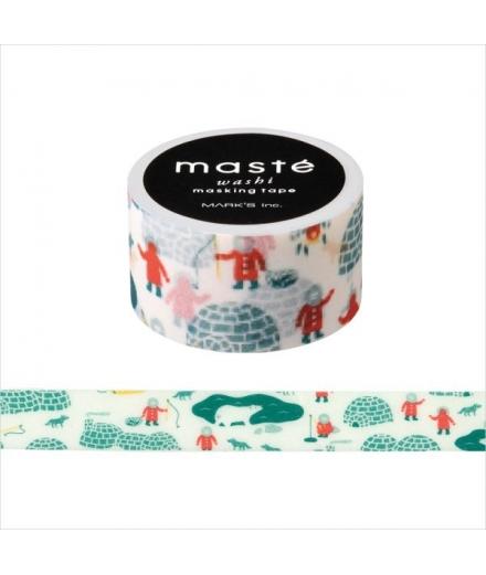 Masking Tape Igloo - Masté