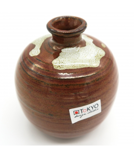 Vase Made In Japan 8.5x9cm Rouge - TOKYO DESIGN STUDIO