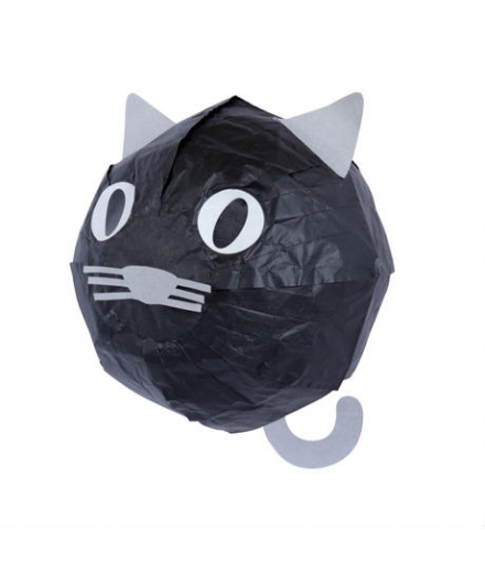Ballon En Papier Washi Kamifusen Chat - ROKUHICHIDO