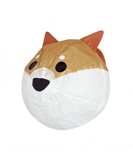 Ballon En Papier Washi Kamifusen Chien Shiba - ROKUHICHIDO