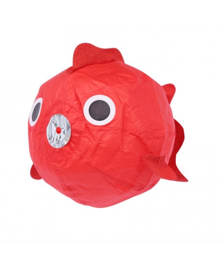 Ballon En Papier Washi Kamifusen Poisson Rouge - ROKUHICHIDO
