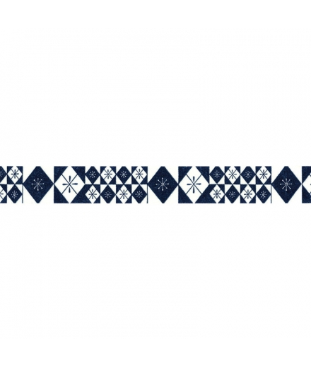 Masking Tapes Bleu Motif Traditionnel - HAIBARA