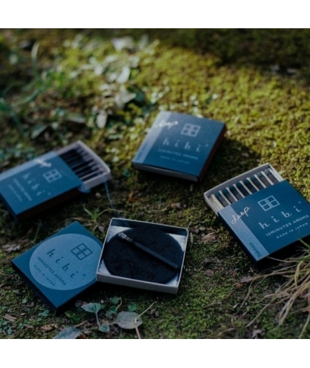 Coffret Cadeau Set De 3 Boites Boites D'encens - Hibi Deep
