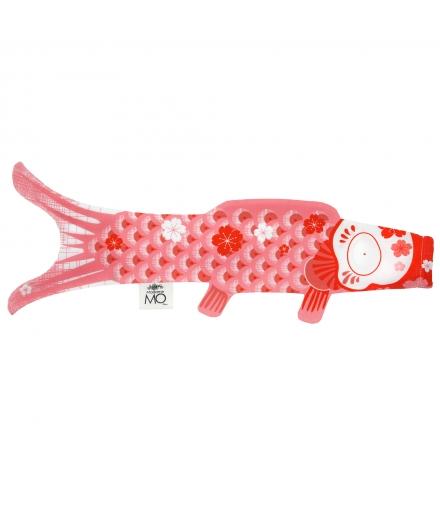 Koinobori Madame Mo Rose corail 70cm - MADAME MO