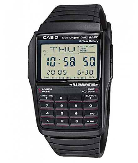 Montre Homme DBC-32-1AES Data Bank Calculatrice - CASIO