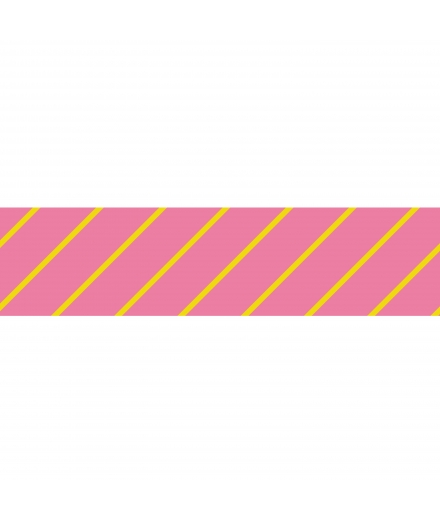 Masking Tape Stripes Rose - Masté Basic
