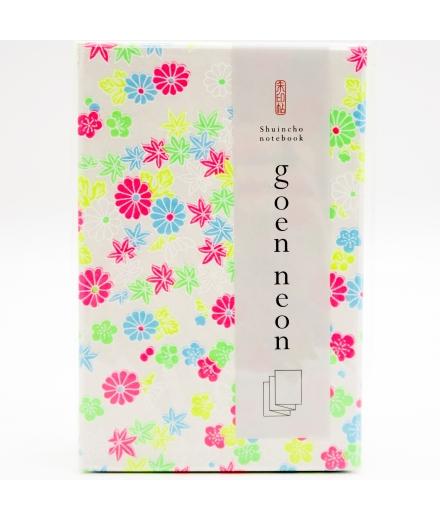 Carnet Goshuin-Chô Fleurs Fluo - SHOGADO