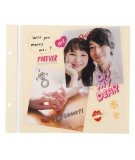 Sticker Transparent Kawaii Amour - MARK'S