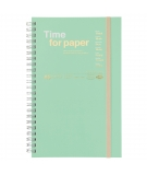 Carnet A Spirales Format A5 Time For Paper - MARK'S