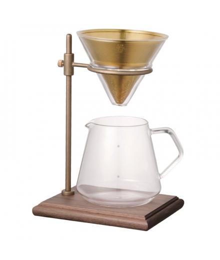 Set Cafetière  - SCS-S02 brewer stand set 4 cups - KINTO