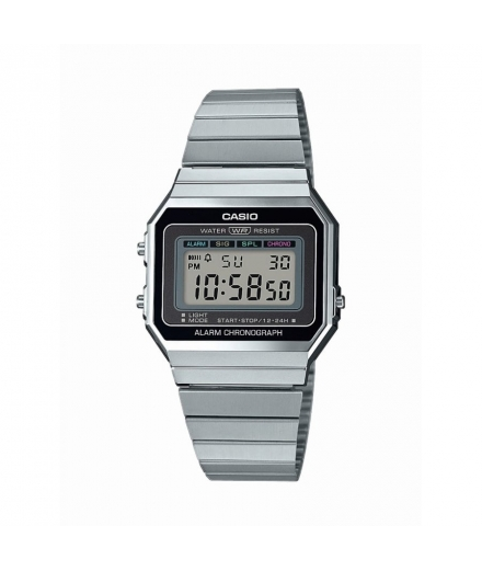 Montre Mixte Digitale A700WE-1AEF Argent - CASIO