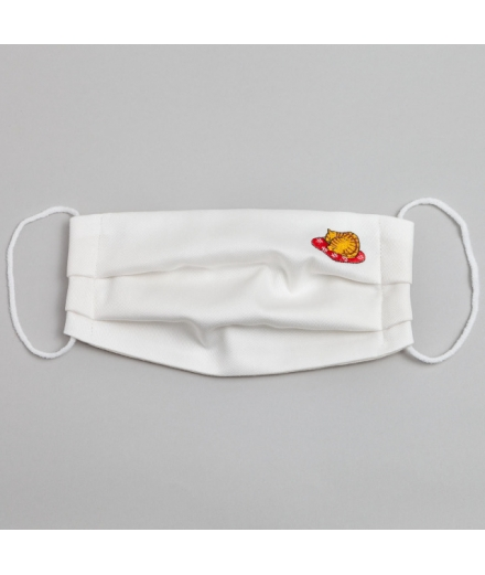 Masque 100% Coton Réutilisable Lavable Chat - KYOTOTO
