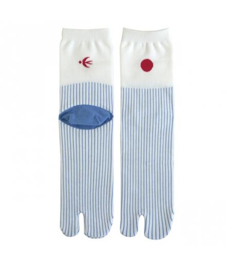 Chaussettes Japonaises Tabi Pluie - KYOTOTO