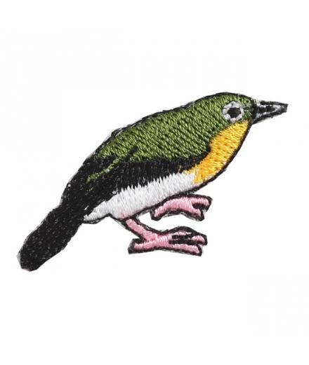 Set 2 Patchs Thermocollant Oiseau et Cerise - KYOTOTO