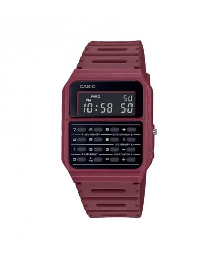 Montre Digitale Calculatrice Rouge CA-53WF-4BEF - CASIO