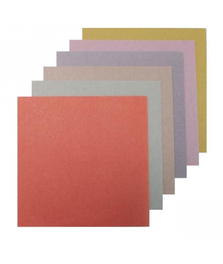 Set de 60 Papiers à Origami Couleurs du Japon 15x15cm - SHOGADO