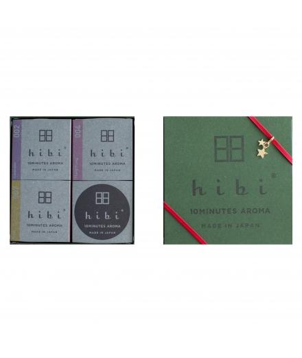 Coffret Cadeau 3 Boites Boites D'encens Vert- Hibi