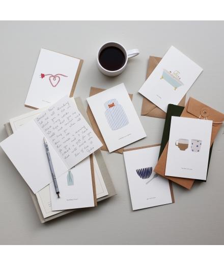 Carte Double Anniversaire Confetti - KARTOTEK