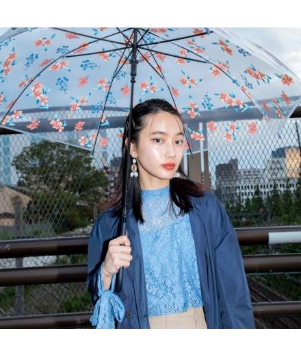 Parapluie Transparent Japonais Botanique - WPC
