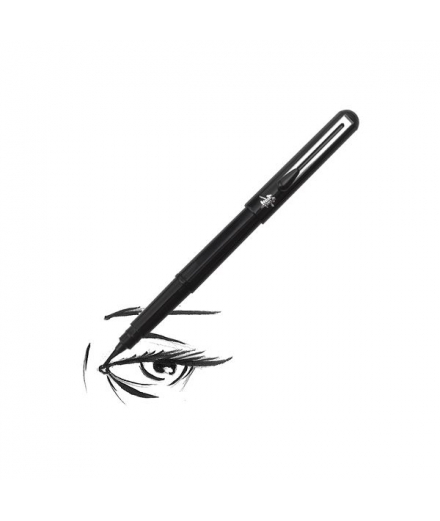 Pinceau Calligraphie Rechargeable Pocket Brush Gris - PENTEL