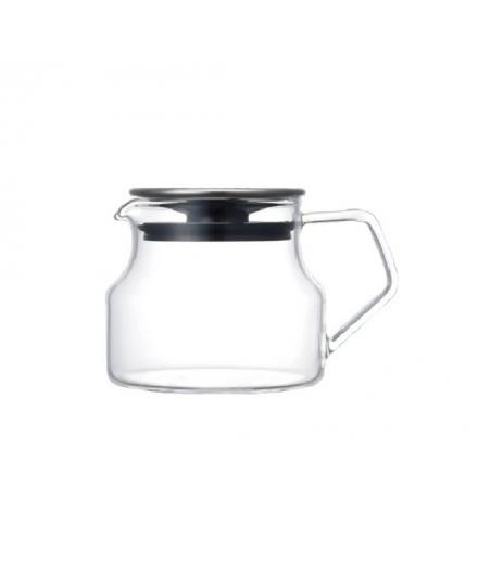 Théière en verre design CAST 450ml - KINTO