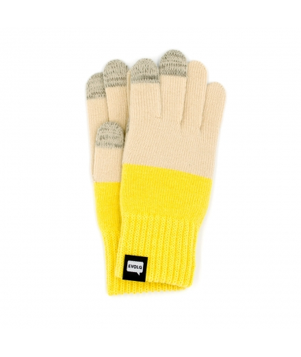 Gants Tactiles Bicolores Unisex - EVOLOG