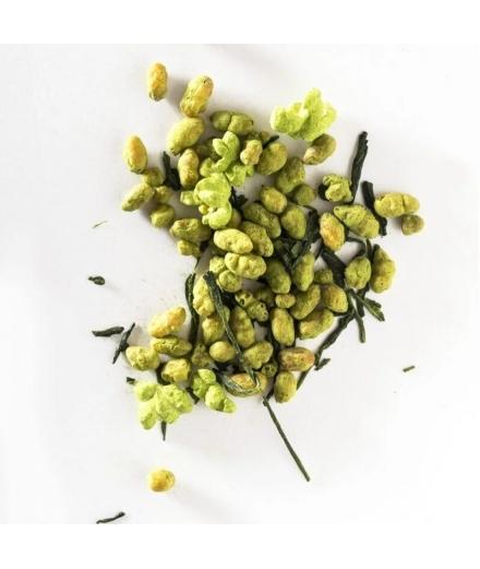 Boîte Thé Vert Genmaicha Avec Matcha Bio 50g - JUGETSUDO