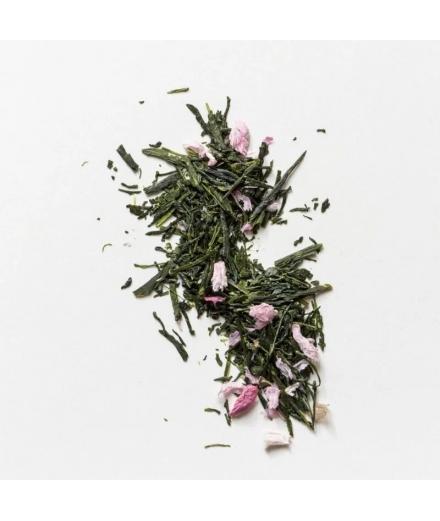 Boîte Thé Vert Sencha Sakura Bio 40g - JUGETSUDO
