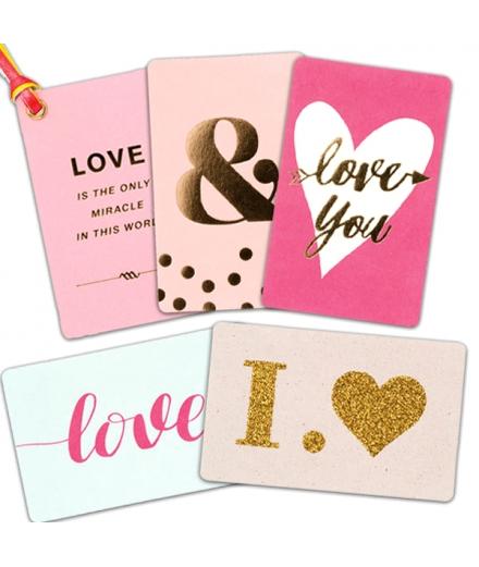 Set De Cartes Décoratives Love - MARK'S