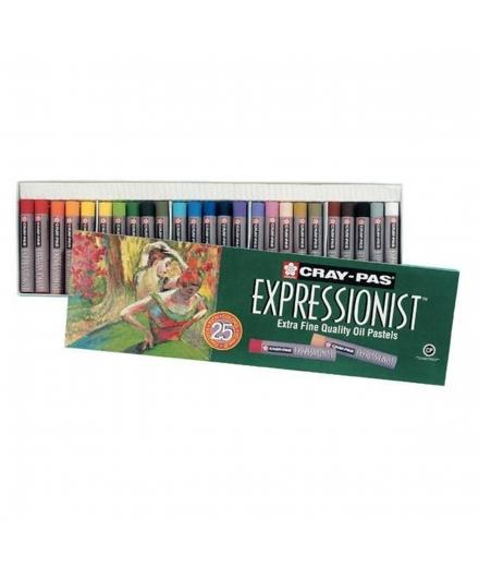 Pastels À l'Huile Cray-Pas Expressionist - SAKURA