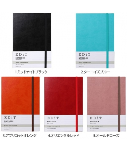 Carnet Ligné Couverture Souple EDIT Made In Japan - MARK'S