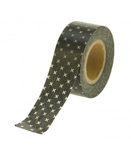 Masking Tape Black Crosses - masté