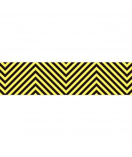 Masking Tape Yellow Chevrons - masté